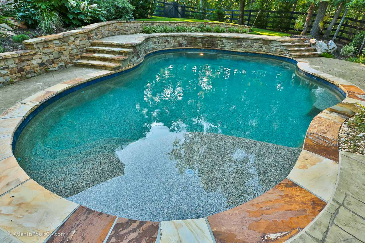 Interior Finishes - ATLANTIS POOLS & SPAS, LLC