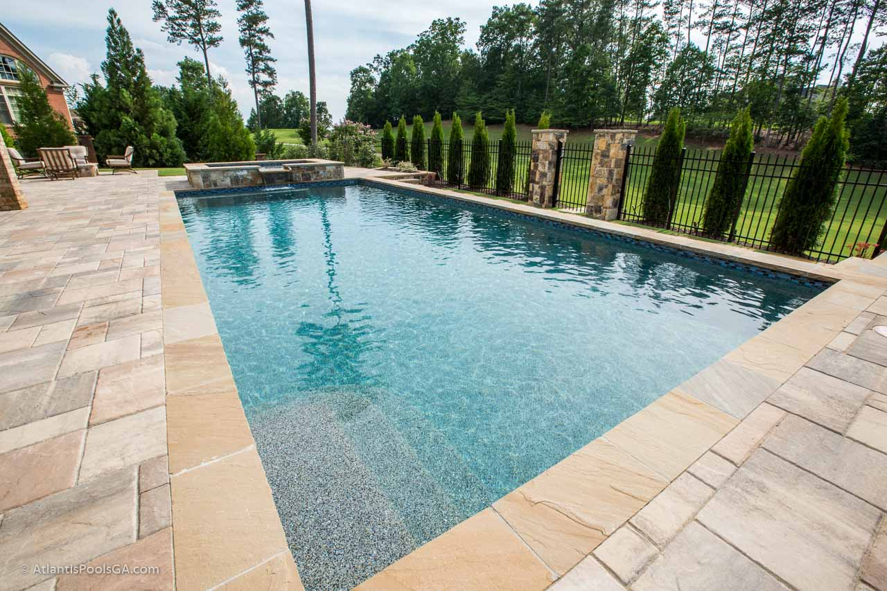 Pool Interior Finishes - ATLANTIS POOLS & SPAS, LLC