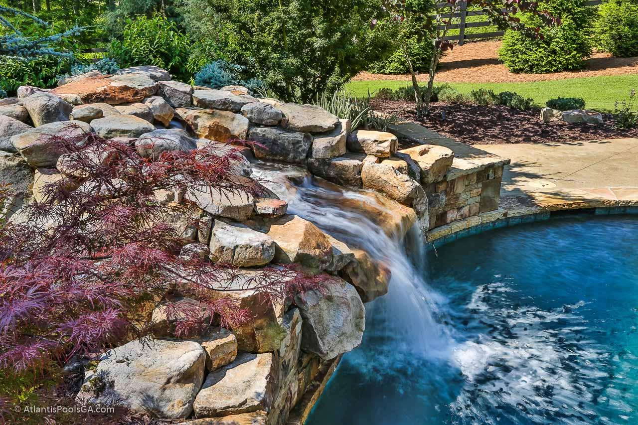 Pool Waterfall Atlanta GA